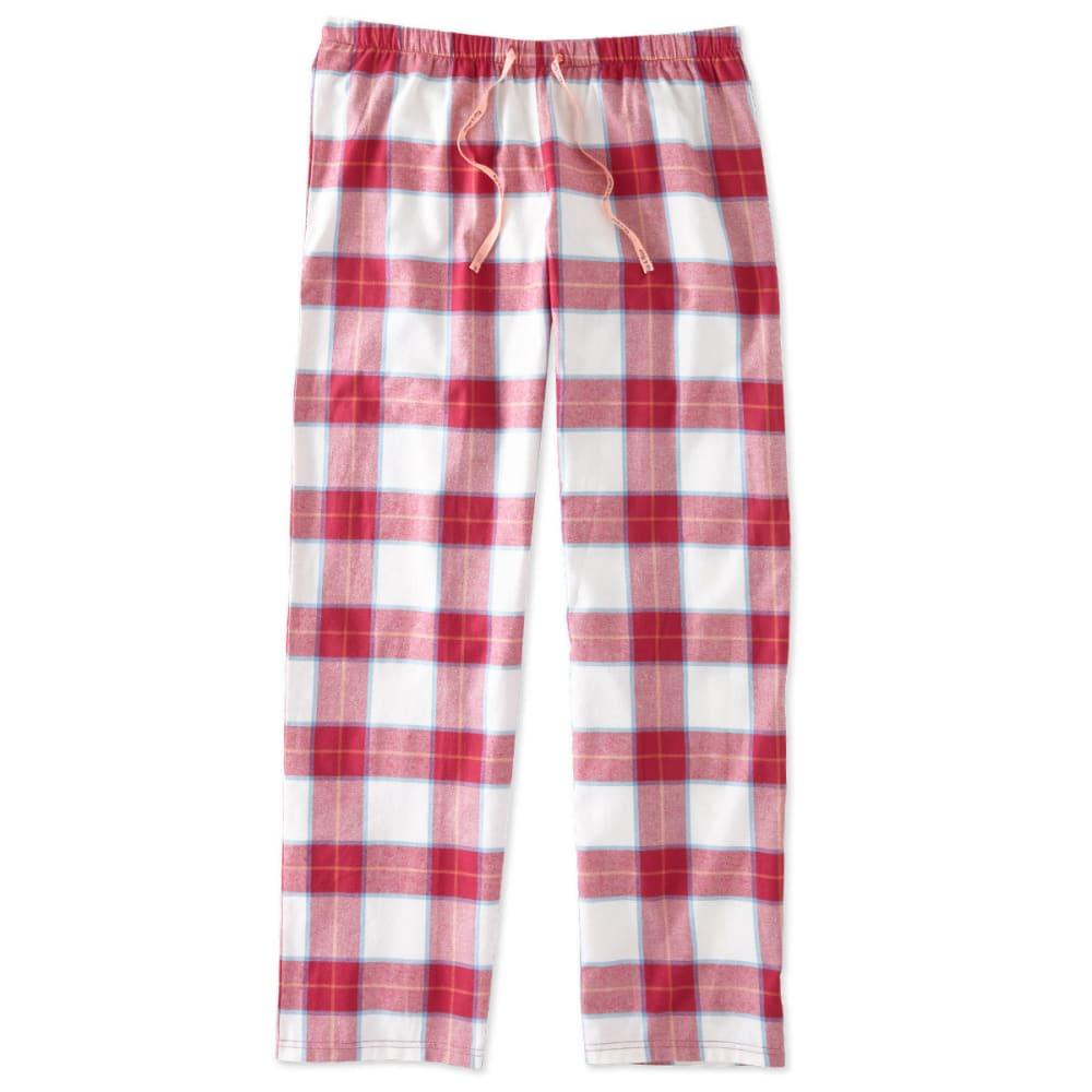 LIFE IS GOOD Juniors' Plaid Sleep Pants - PLAID
