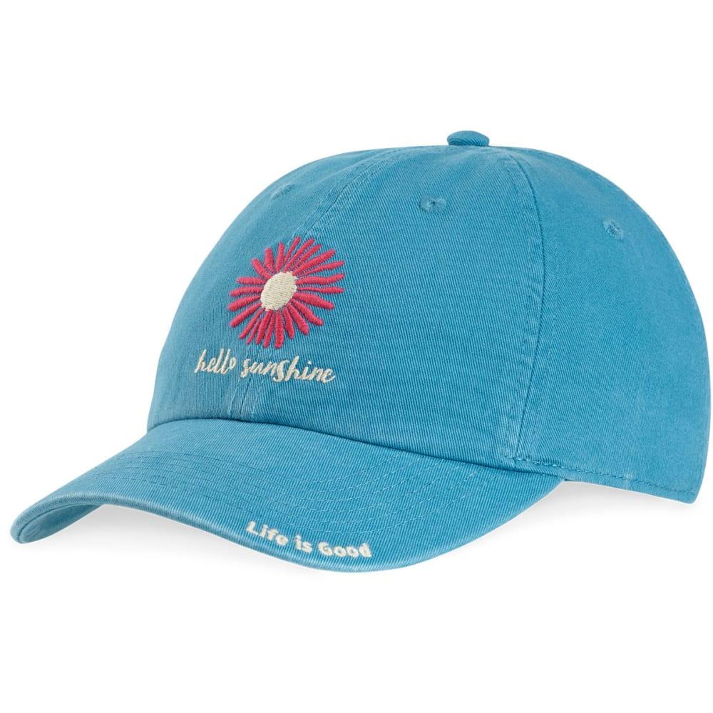 LIFE IS GOOD Women's Hello Sunshine Daisy Chill Cap - DENIM BLUE