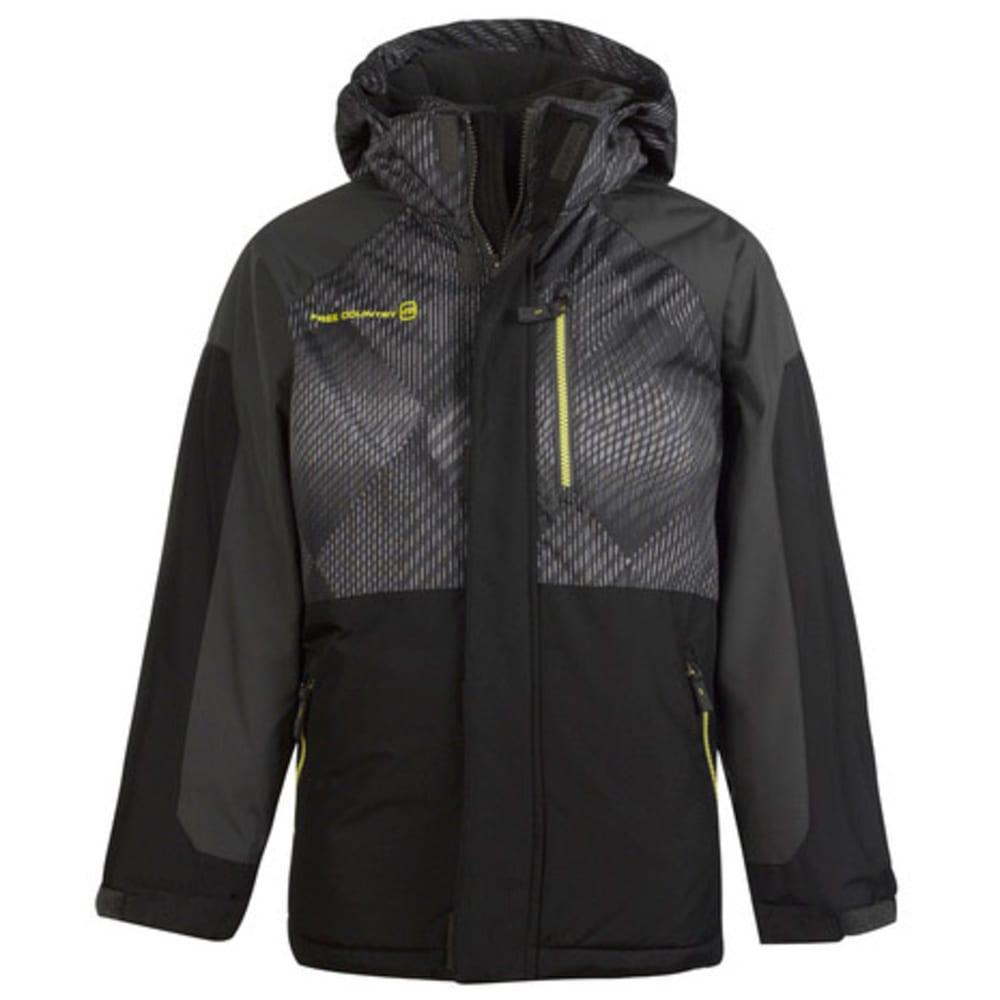FREE COUNTRY Boys' Scion Snowboard Jacket - BLACK