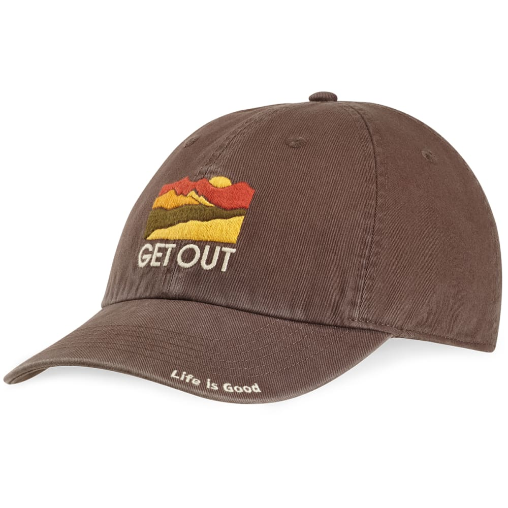 LIFE IS GOOD Get Out Horizon Chill Cap - DARKEST BROWN