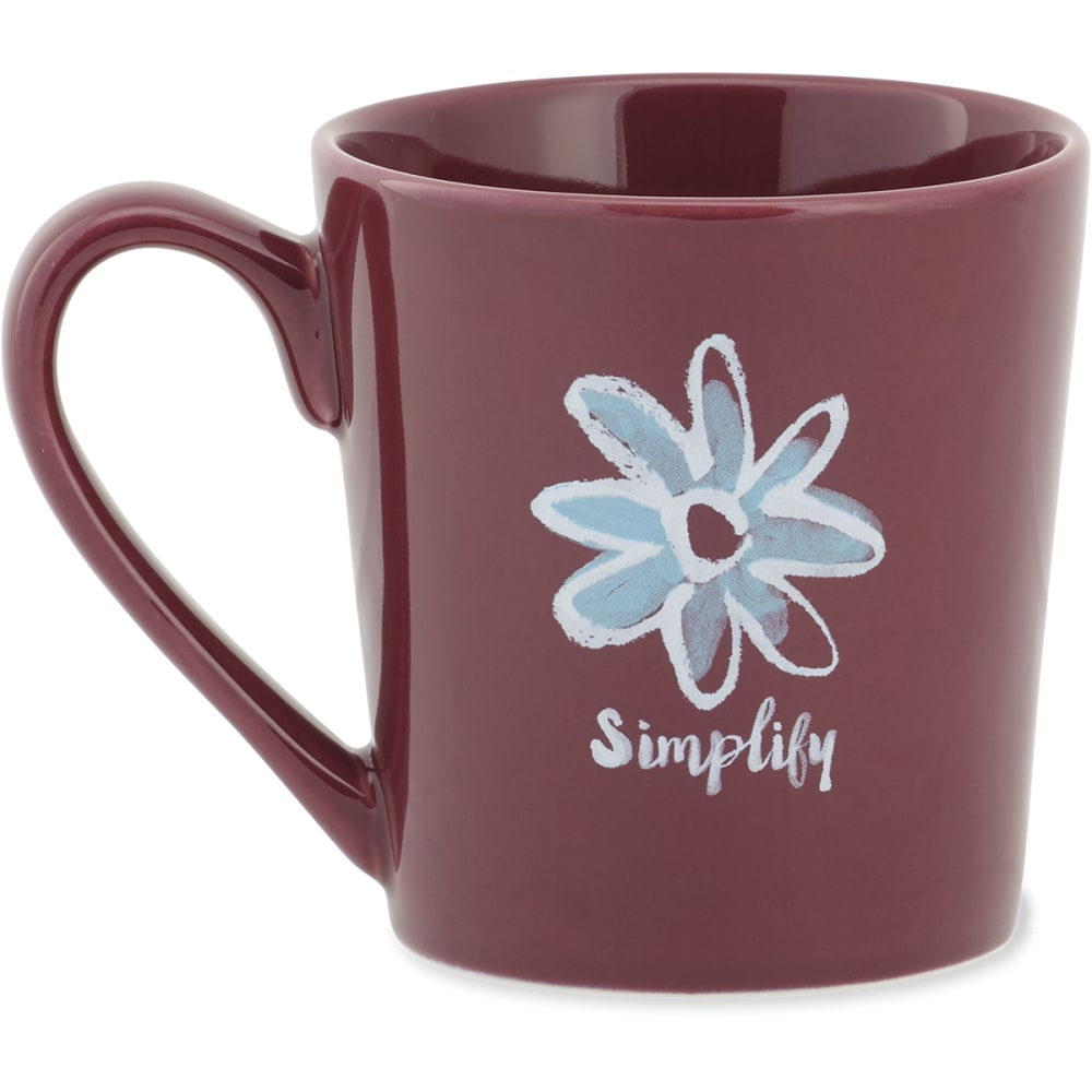 LIFE IS GOOD Simplify Everyday Mug - NO COLOR