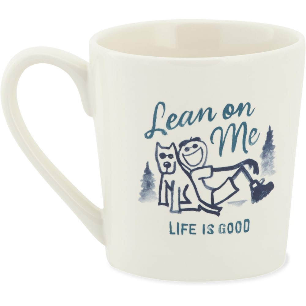 LIFE IS GOOD Lean On Me Jake & Rocket Everyday Mug - NO COLOR