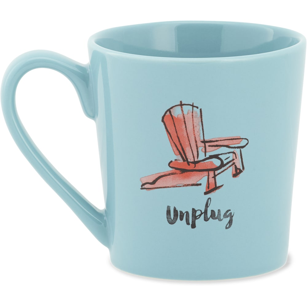 LIFE IS GOOD Unplug Adirondack Chair Everyday Mug - NO COLOR