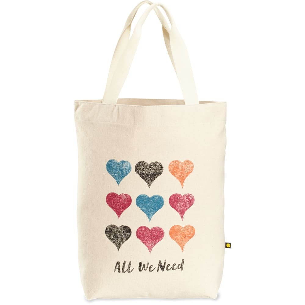 LIFE IS GOOD All We Need Hearts Messaging Tote - NO COLOR