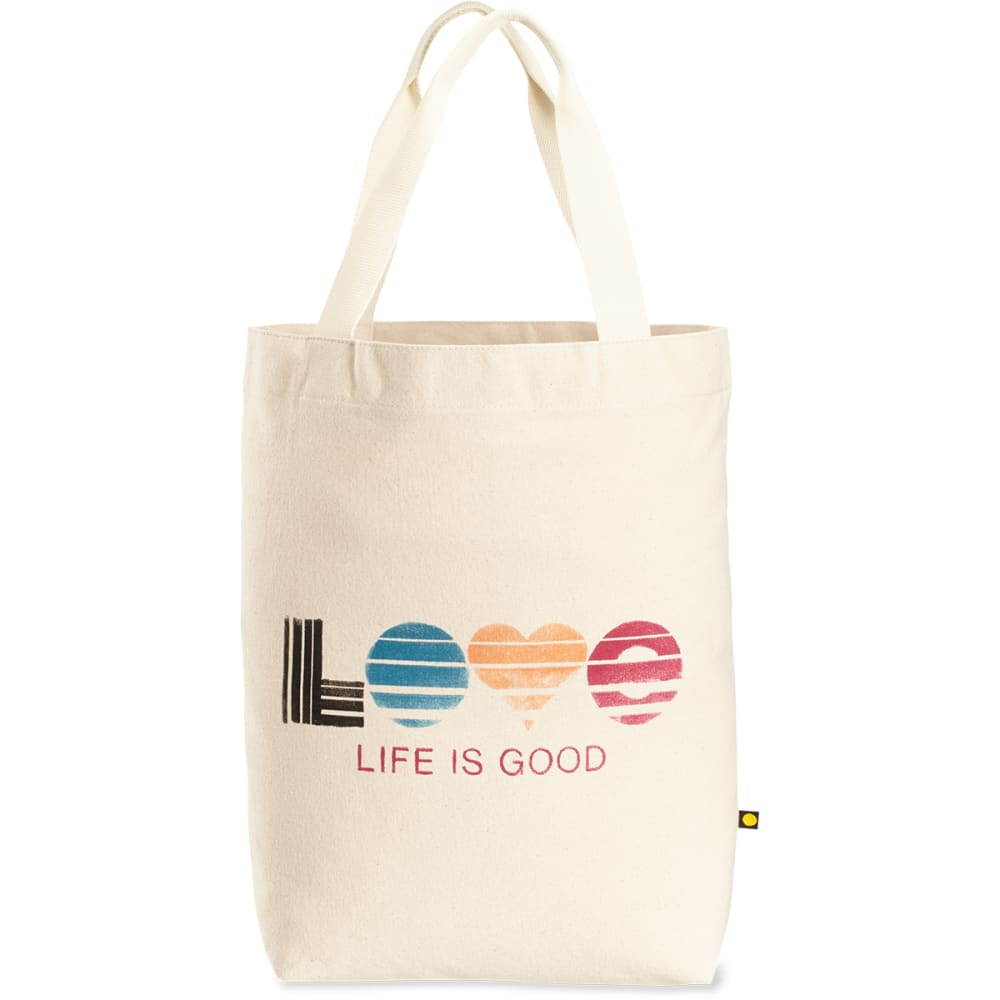 LIFE IS GOOD Love Messaging Tote - NO COLOR
