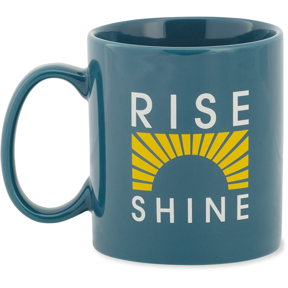 LIFE IS GOOD Rise & Shine Run Rays Jake's Mug - NO COLOR