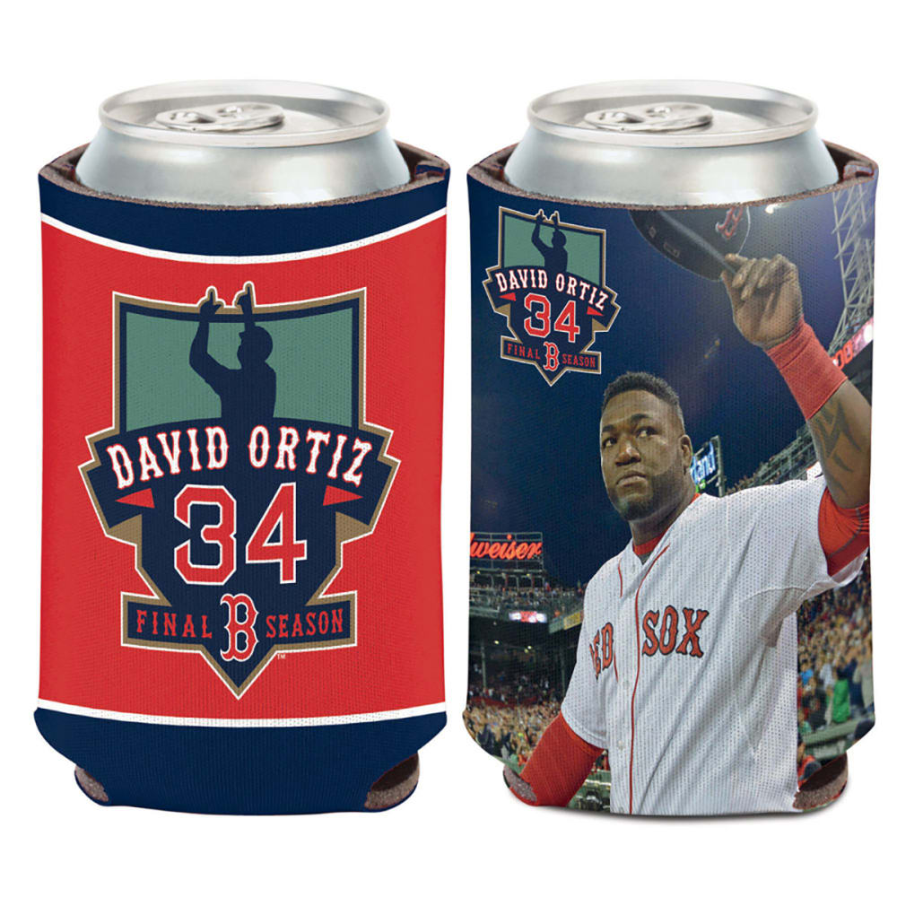BOSTON RED SOX David Ortiz Final Season Coozie - ASSORTED