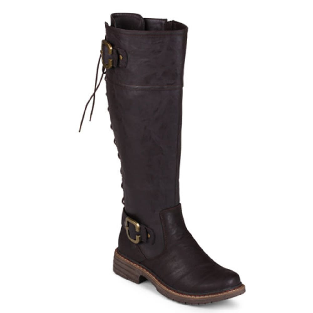 WANTED Women's Brew Lace-Up Boots - BROWN