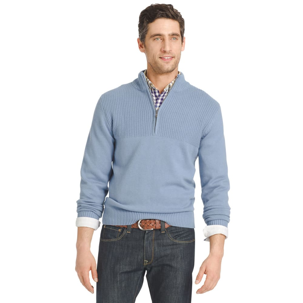 IZOD Men's Hyannis ¼-Zip Sweater - 487-OCEAN
