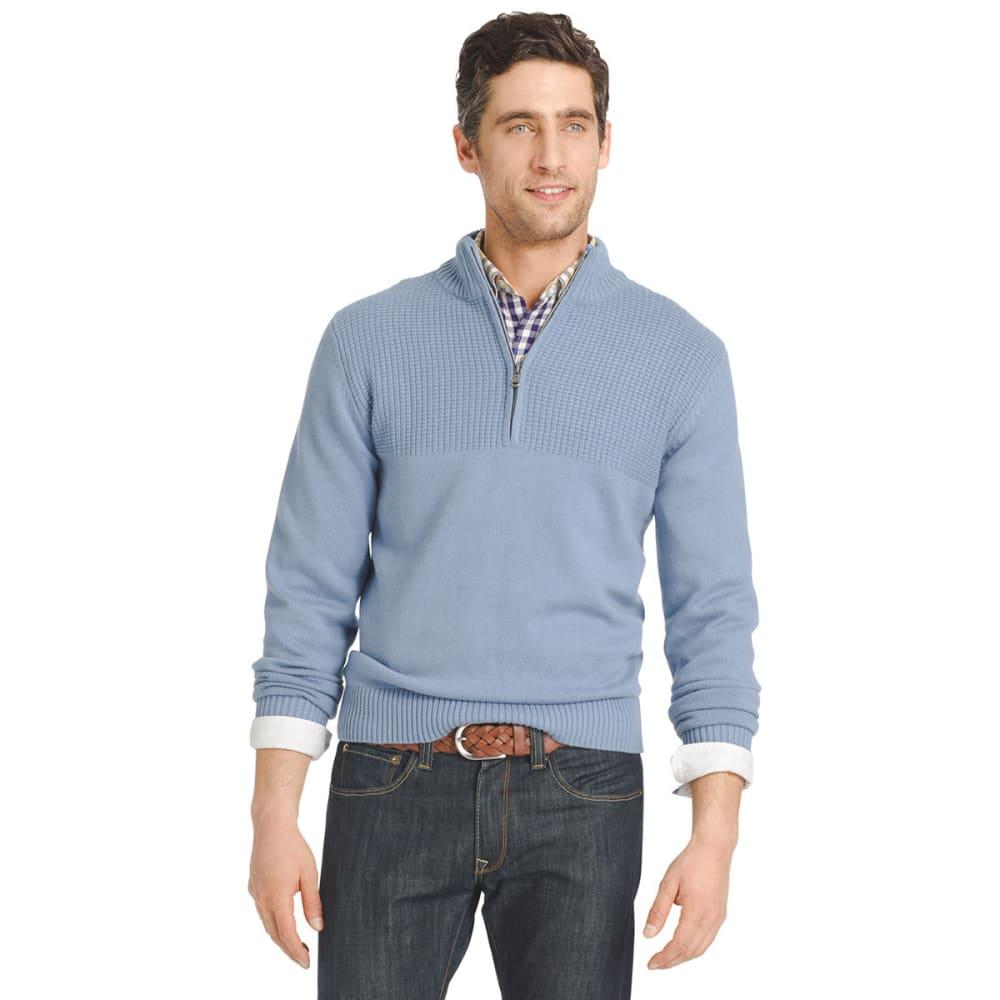 IZOD Men's Hyannis ¼-Zip Sweater - 487-OCEAN