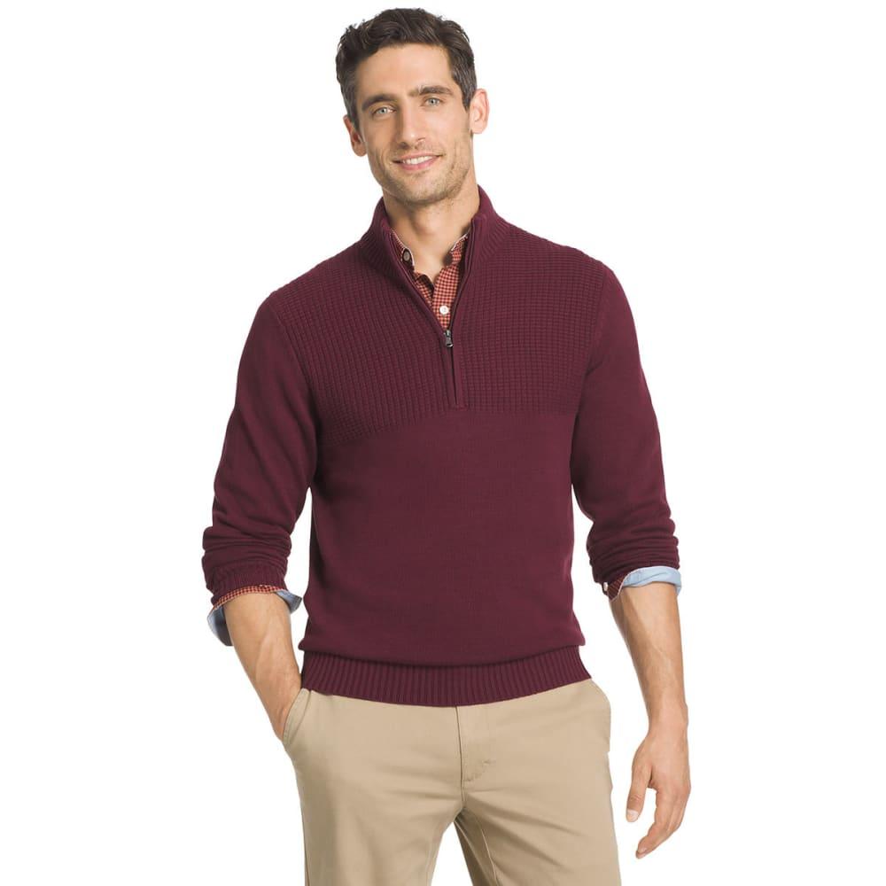 IZOD Men's Hyannis ¼-Zip Sweater - 603-SYRAH