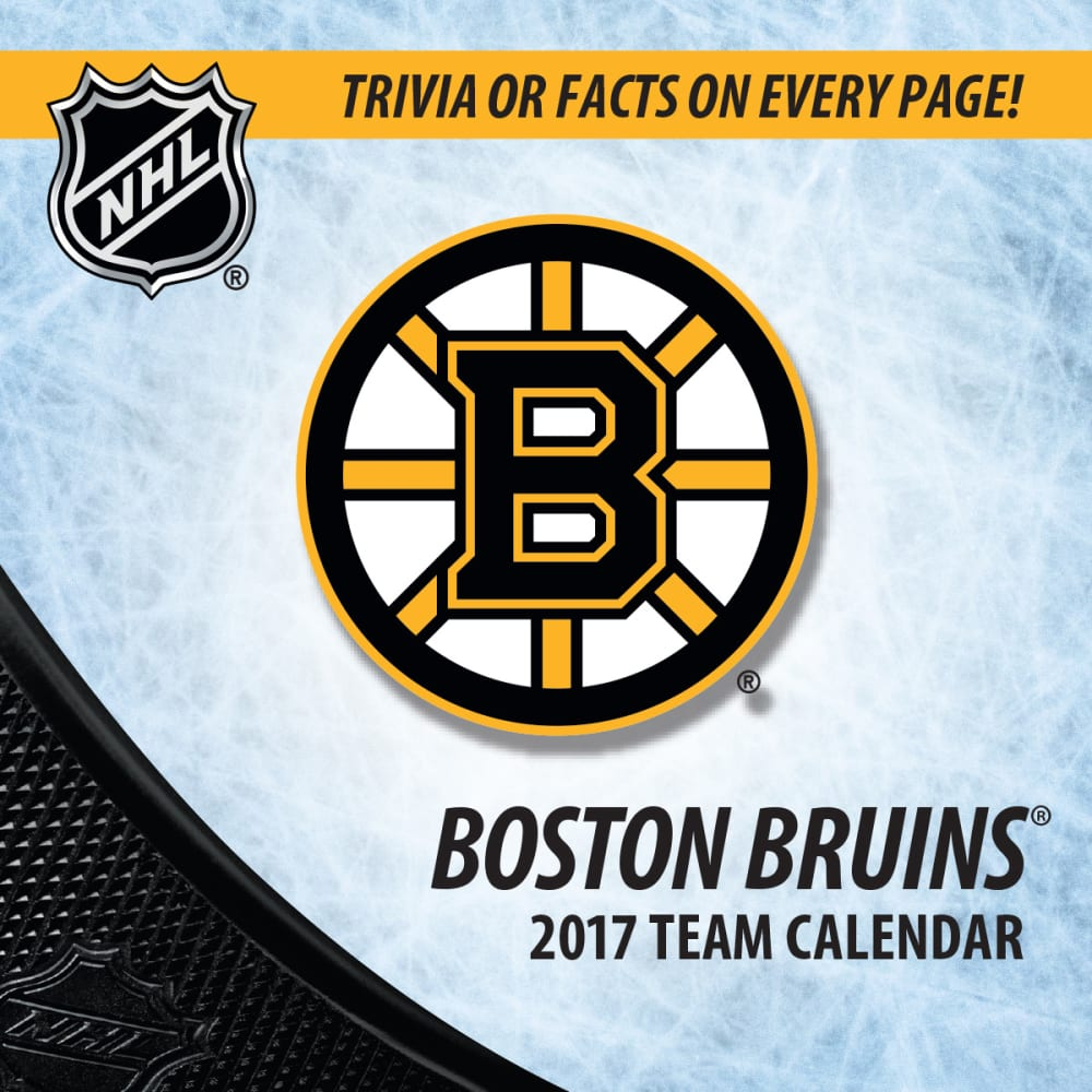 BOSTON BRUINS 2017 Box Calendar - ASSORTED