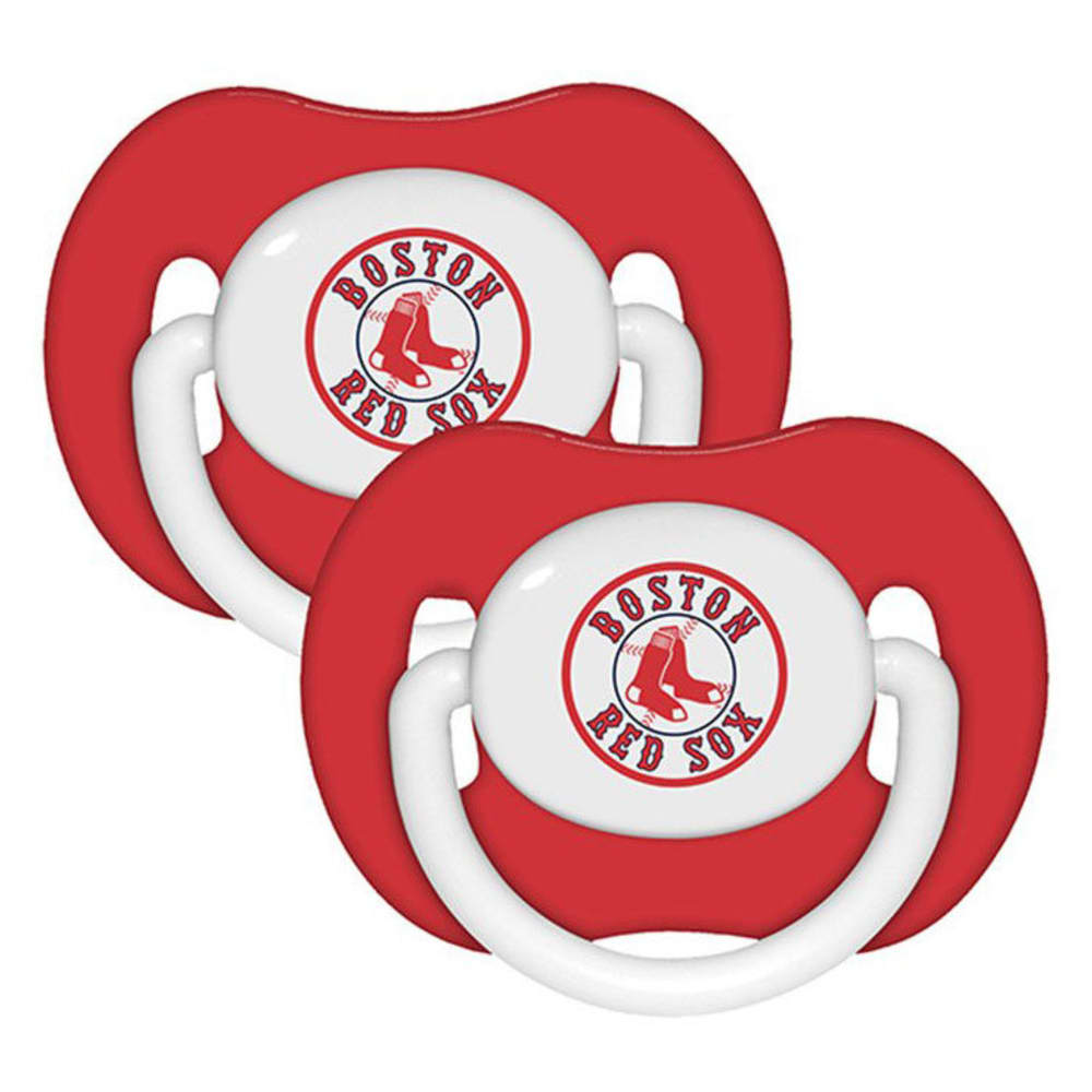 BOSTON RED SOX Pacifier, 2 Pack - ASSORTED