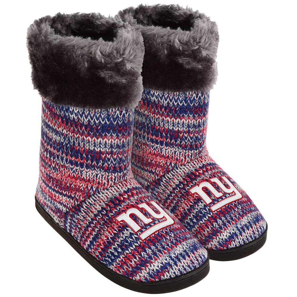 NEW YORK GIANTS Women's Peak Knit Boots - MULTI