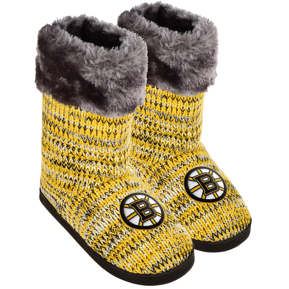 BOSTON BRUINS Women's Peak Knit Boots - MULTI