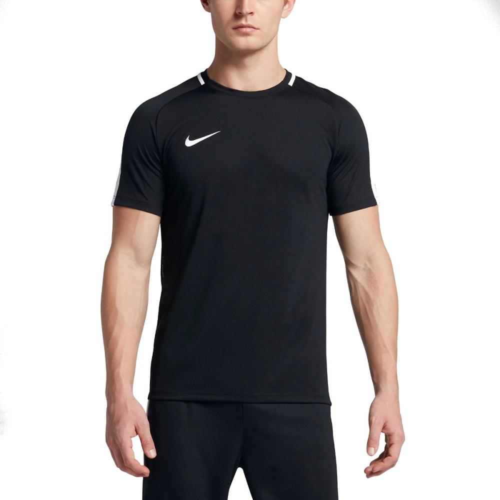 NIKE Men's Dry Academy Soccer Shirt - BLACK/WHITE-010