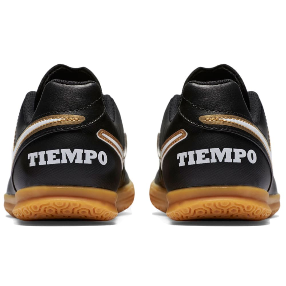 NIKE Kids' Junior Tiempo Rio III IC Indoor Soccer Cleats - BLACK