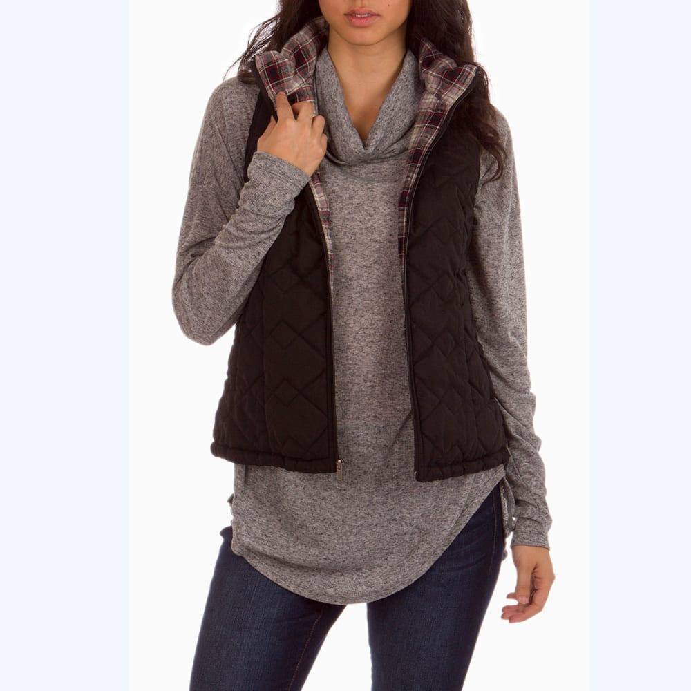 UNIONBAY Women's Cecilia Quilted Vest - 001J BLACK