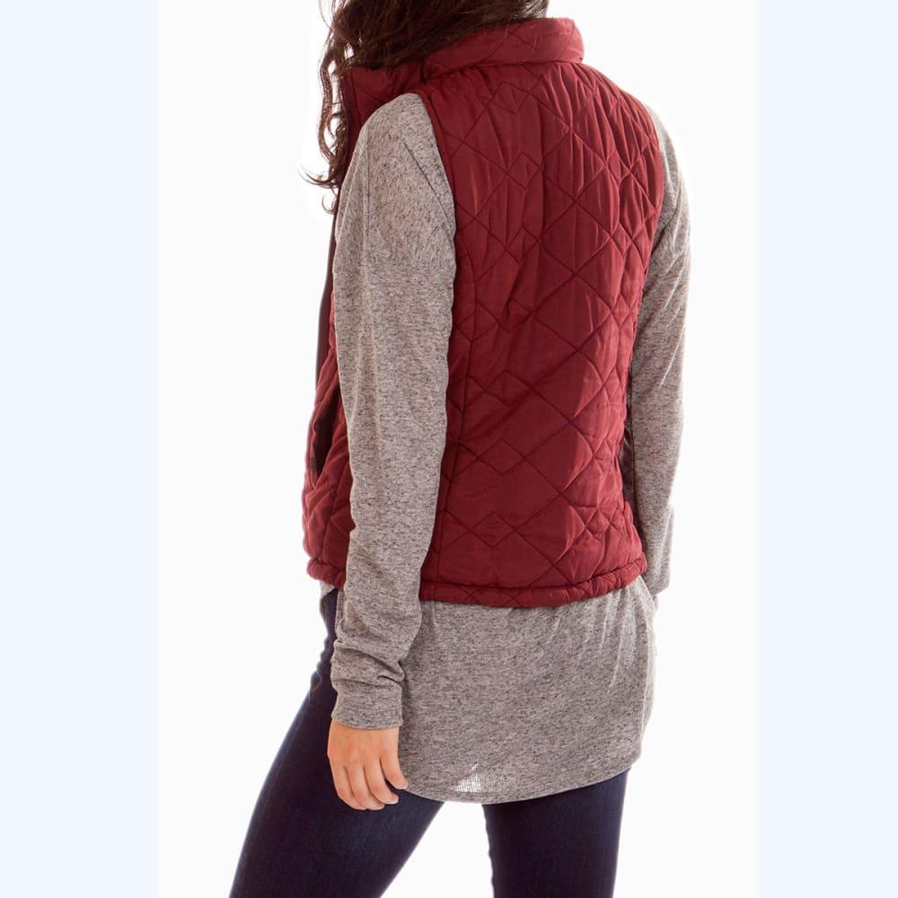 UNIONBAY Women's Cecilia Quilted Vest - 617J MERLOT