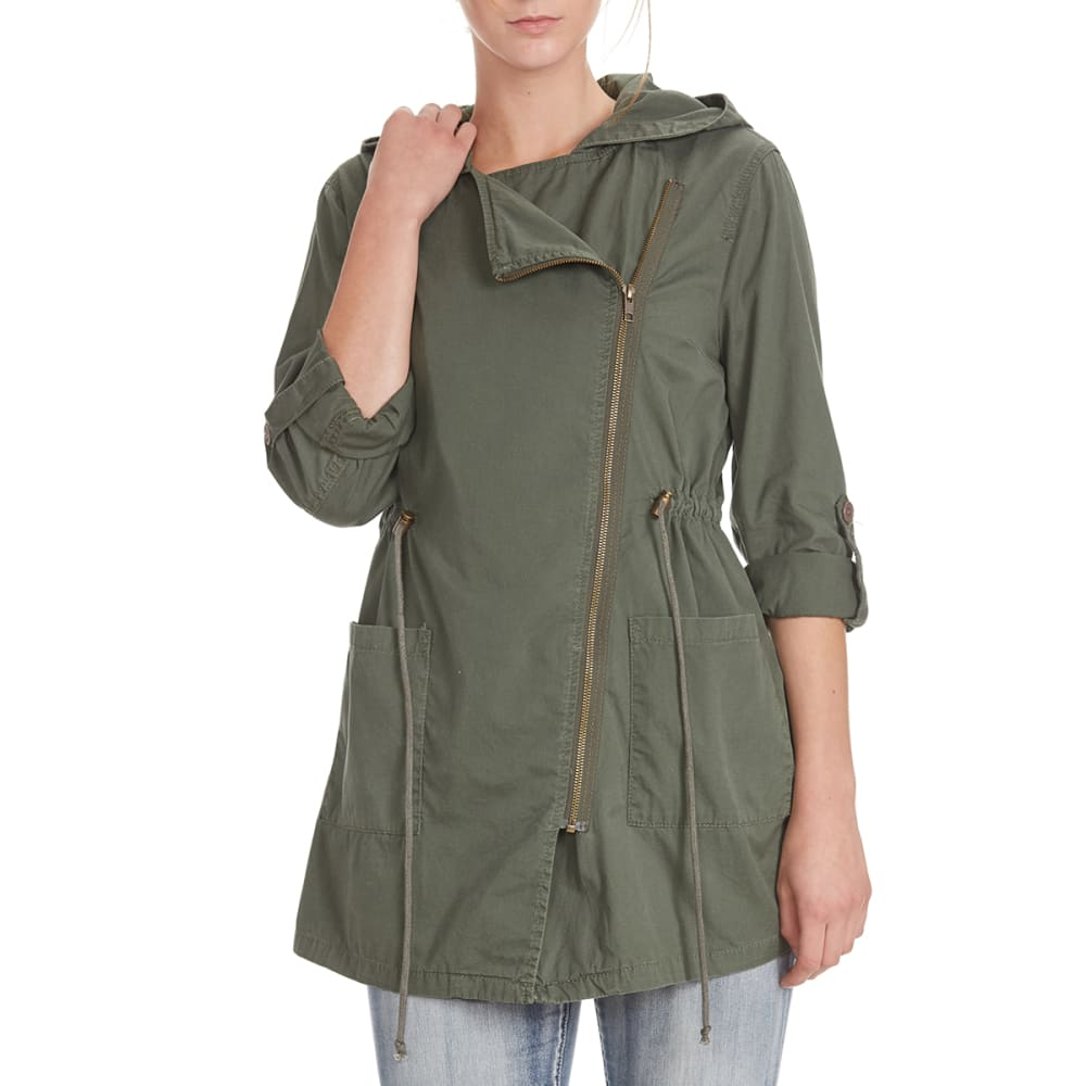 SUPPLIES BY UNIONBAY Women's Adina Anorak Jacket - 339J FATIGUE GREEN