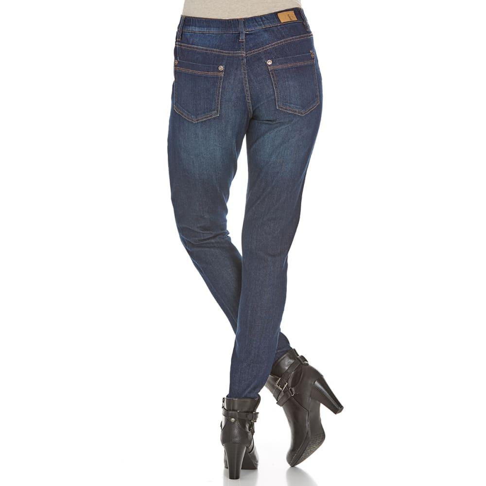SUPPLIES BY UNIONBAY Women's Lolita Skinny Stretch Jeans - 251J MOONBEAM WASH