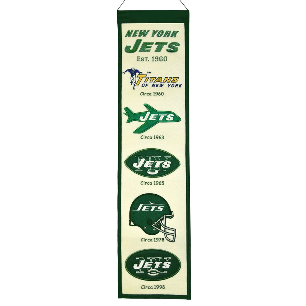 NEW YORK JETS Heritage Banner - ASSORTED