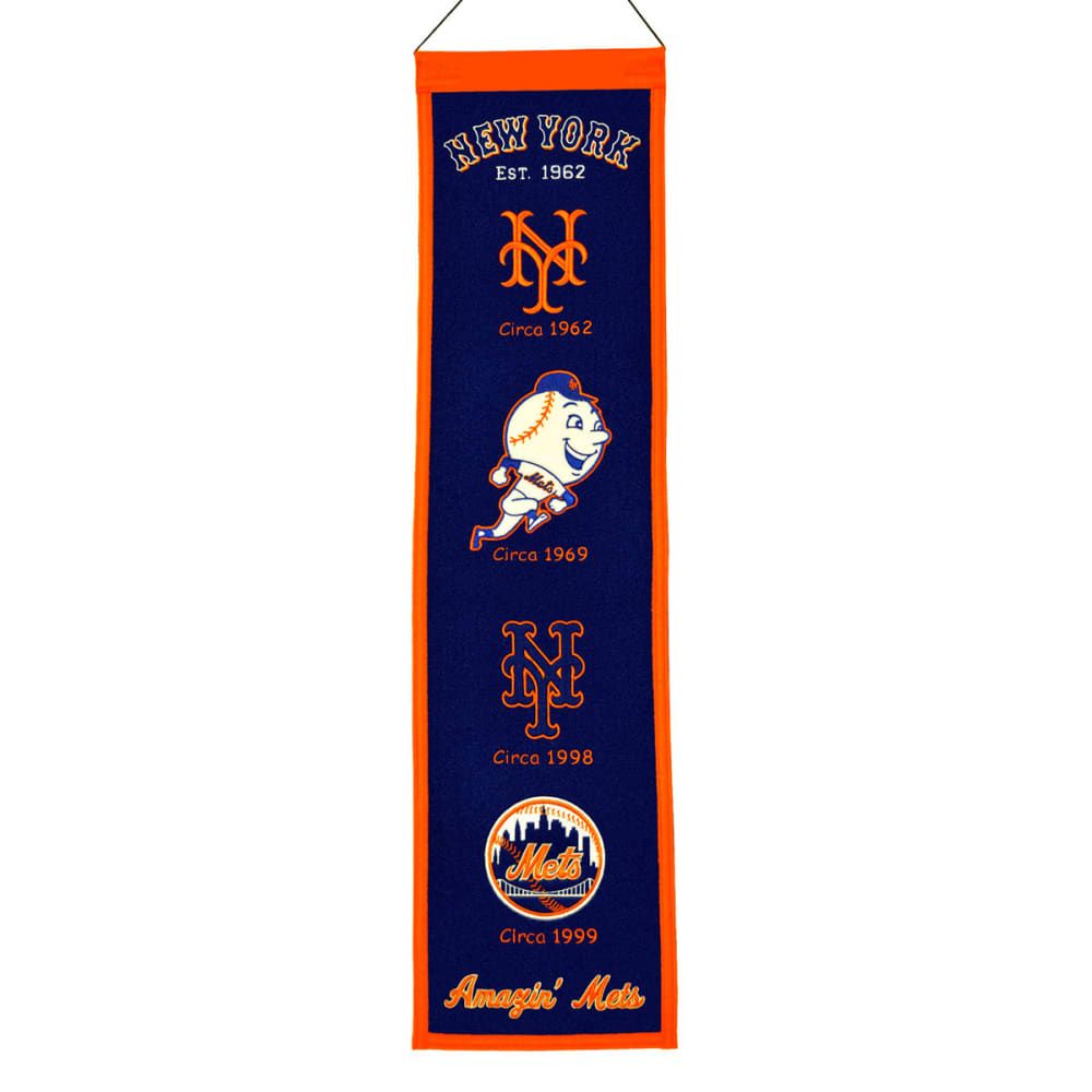 NEW YORK METS Heritage Banner ONE SIZE