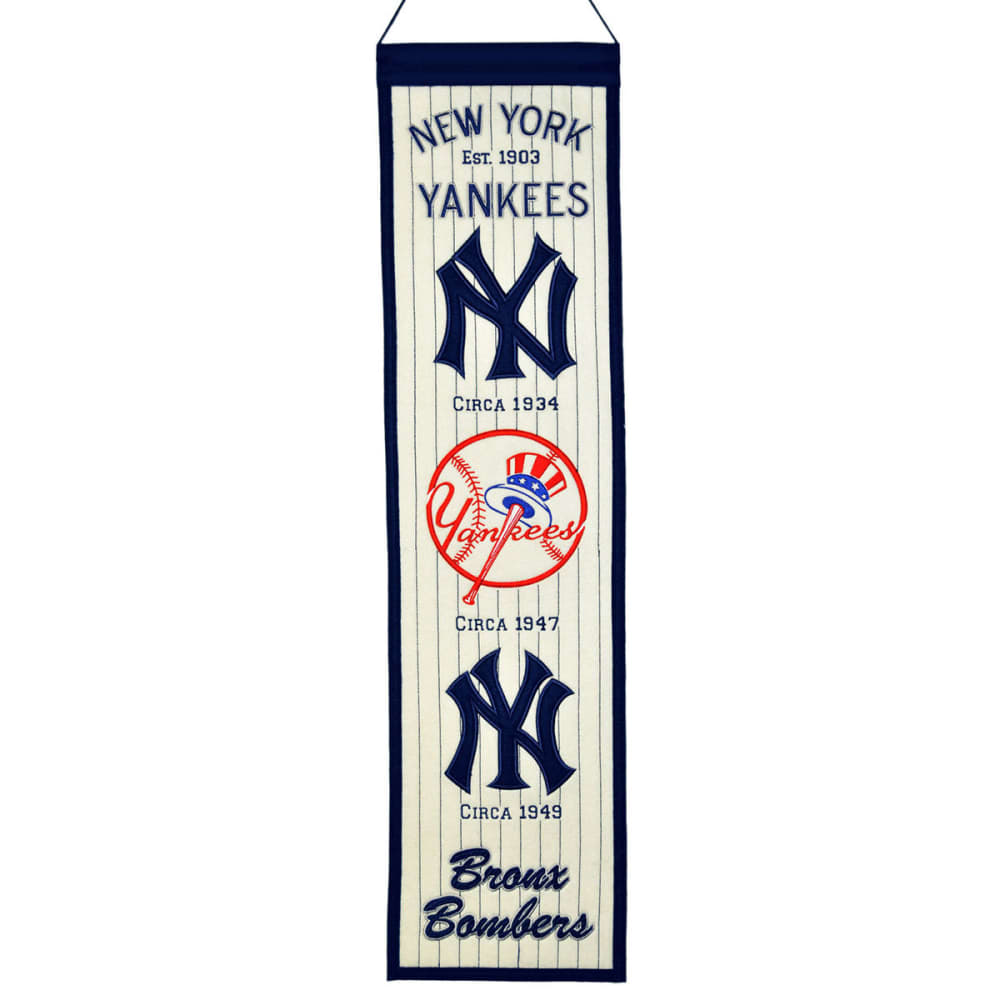 NEW YORK YANKEES Heritage Banner - ASSORTED