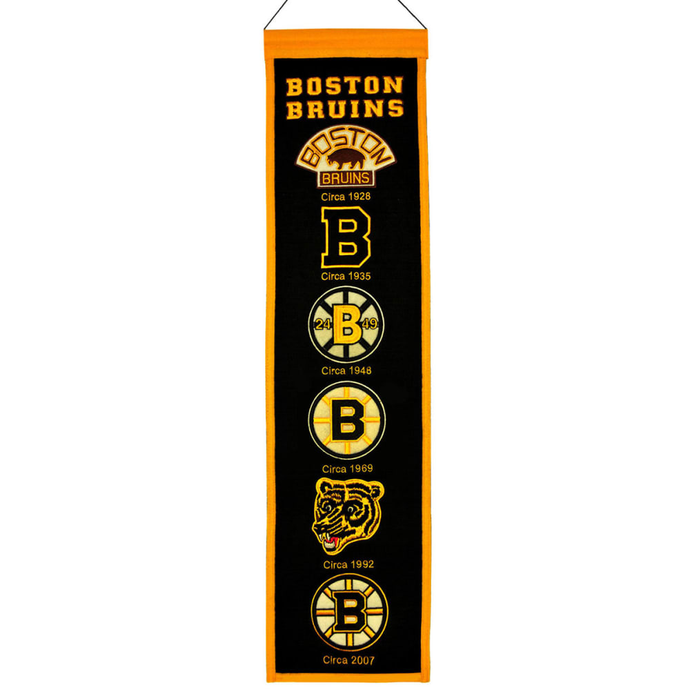 BOSTON BRUINS Heritage Banner - ASSORTED