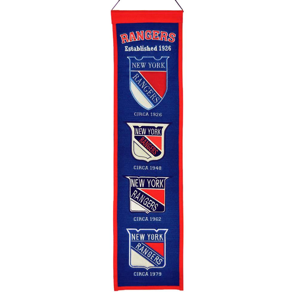 NEW YORK RANGERS Heritage Banner - ASSORTED