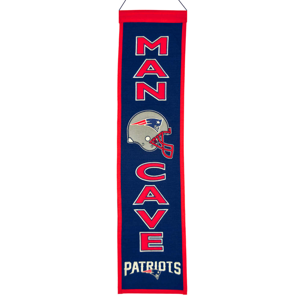 NEW ENGLAND PATRIOTS Man Cave Banner - ASSORTED