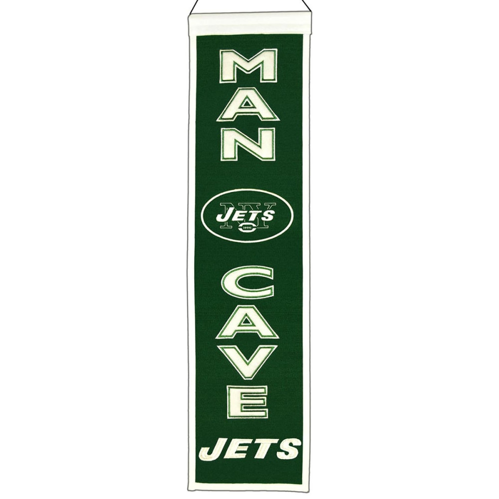 NEW YORK JETS Man Cave Banner - ASSORTED