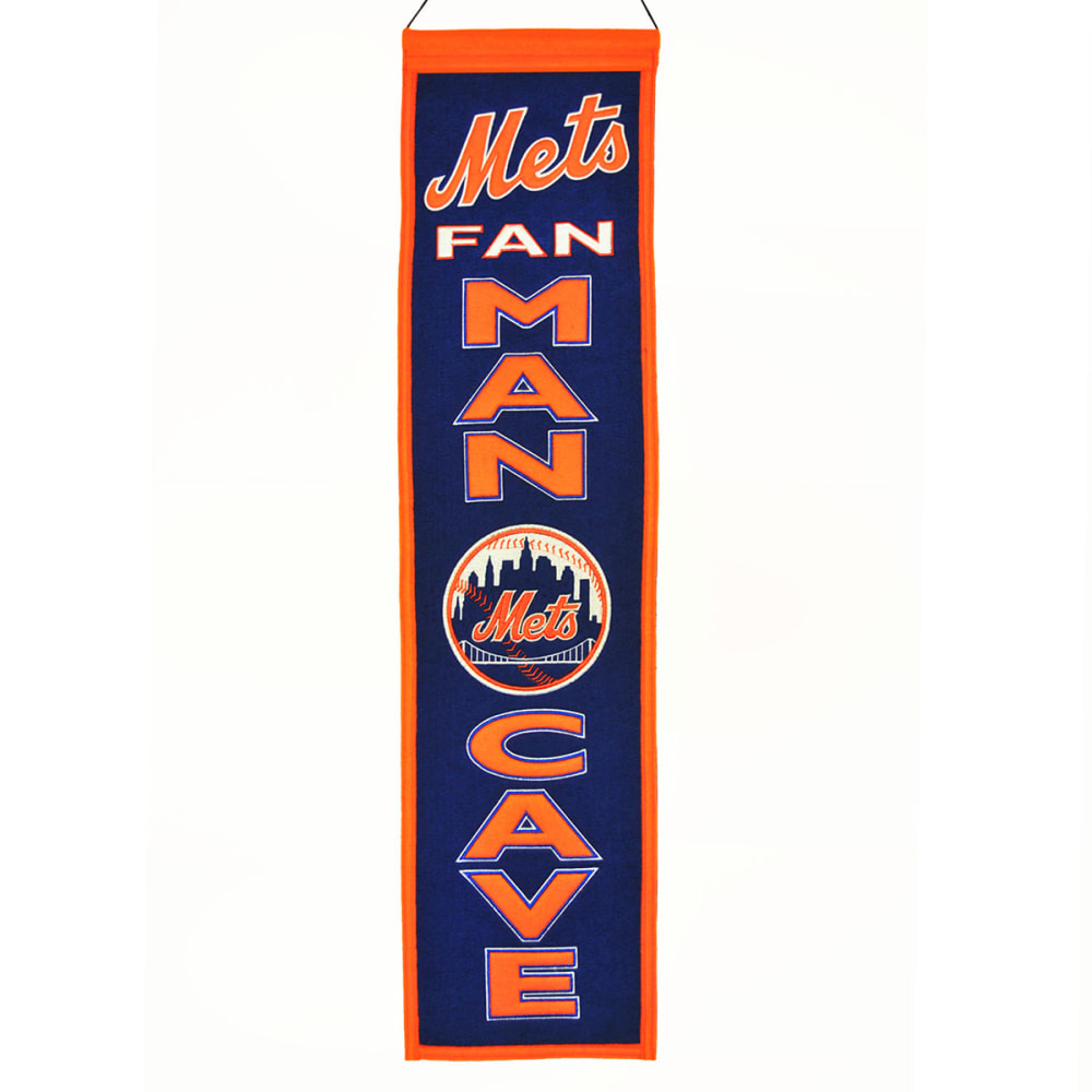 NEW YORK METS Man Cave Banner - ASSORTED