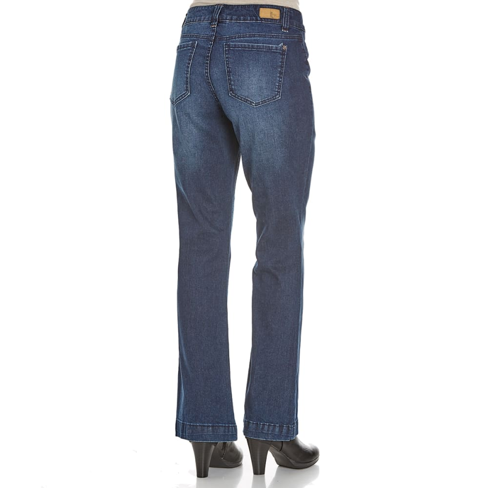 SUPPLIES BY UNIONBAY Women's Ryen Trouser Jeans - 261J MOONBEAM WASH