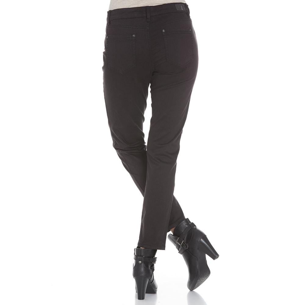 SUPPLIES BY UNIONBAY Women's Shaylee 5-Pocket Skinny Jeans - 001J BLACK