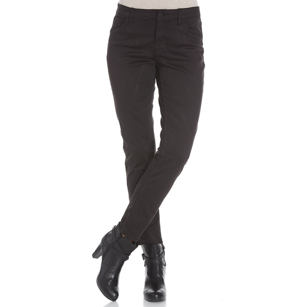 SUPPLIES BY UNIONBAY Women's Shaylee 5-Pocket Skinny Jeans - 001J BLACK