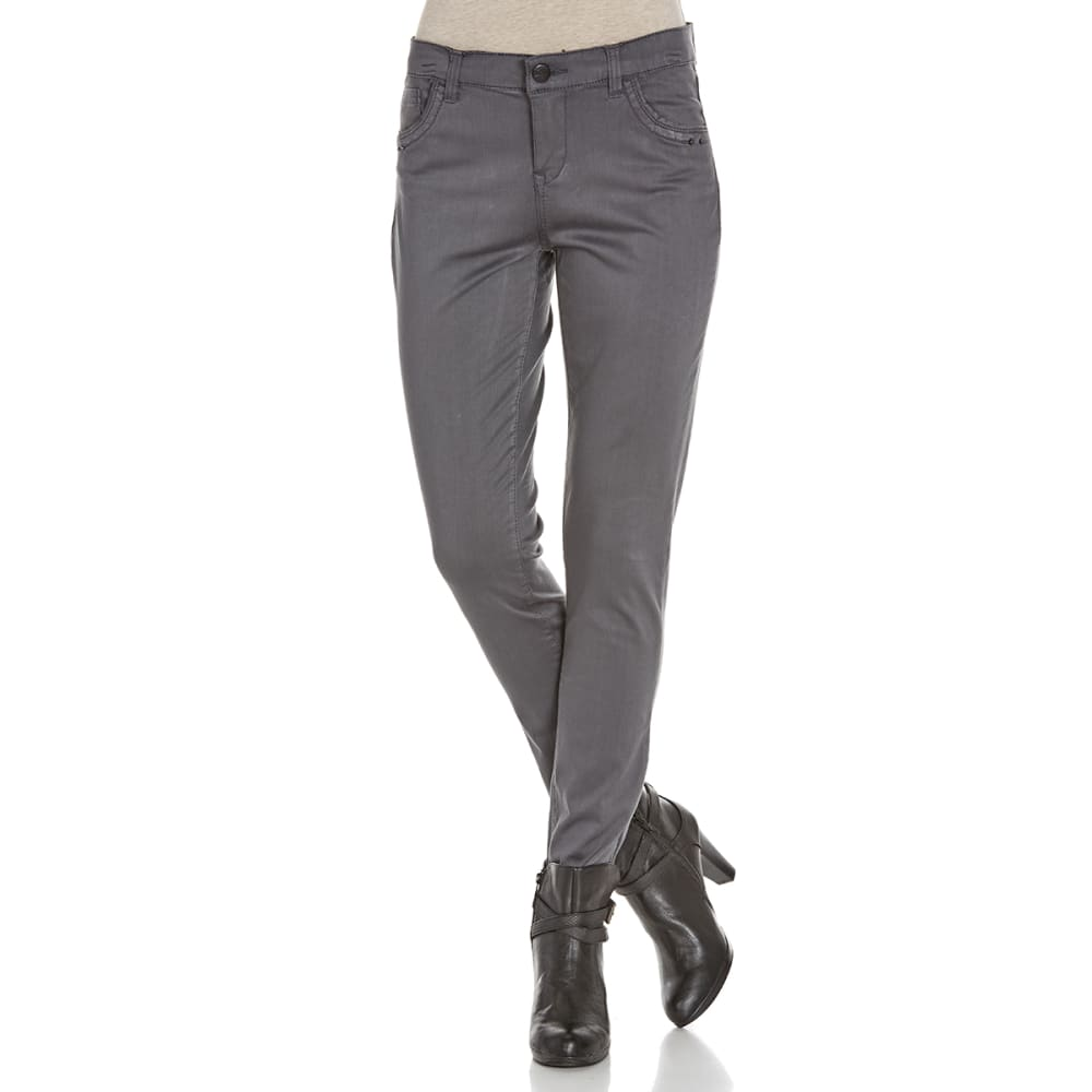 SUPPLIES BY UNIONBAY Women's Shaylee 5-Pocket Skinny Jeans - 094J IRON GREY