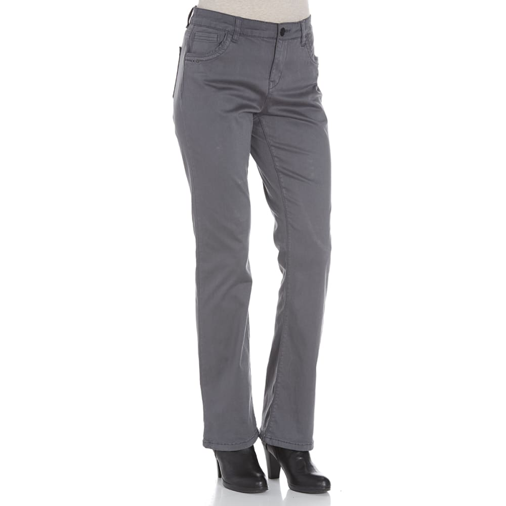 SUPPLIES BY UNIONBAY Women's Shaylee 5-Pocket Boot Cut Jeans - 094J IRON GREY