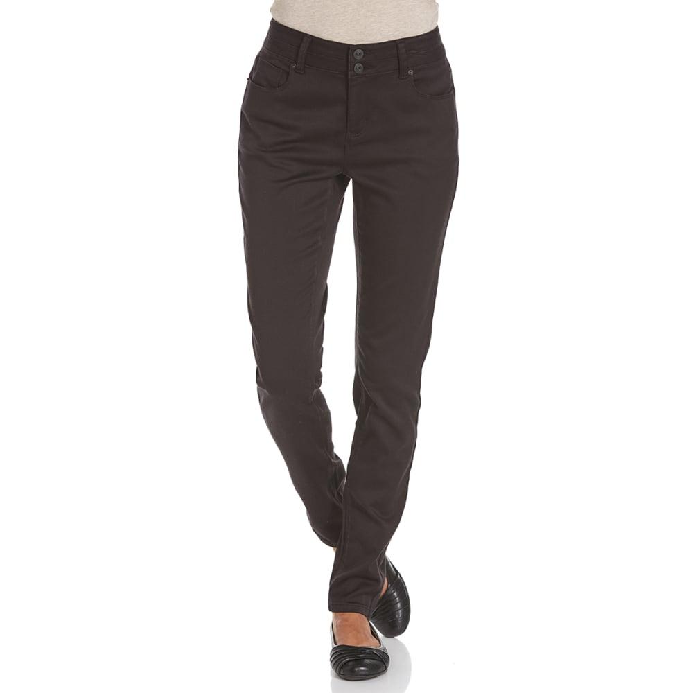 STITCH+STAR Women's VP Color Skinny Pants - AB-BLACK