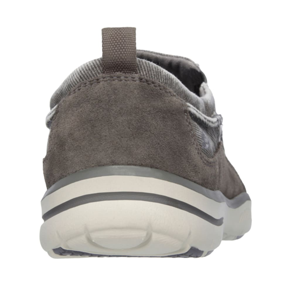 SKECHERS Men's Relaxed Fit: Elected – Drigo Shoes - CHARCOAL