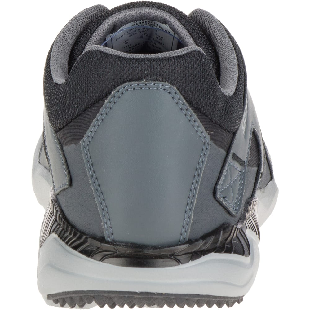 MERRELL Men's 1SIX8 Lace, Black - BLACK/BLACK