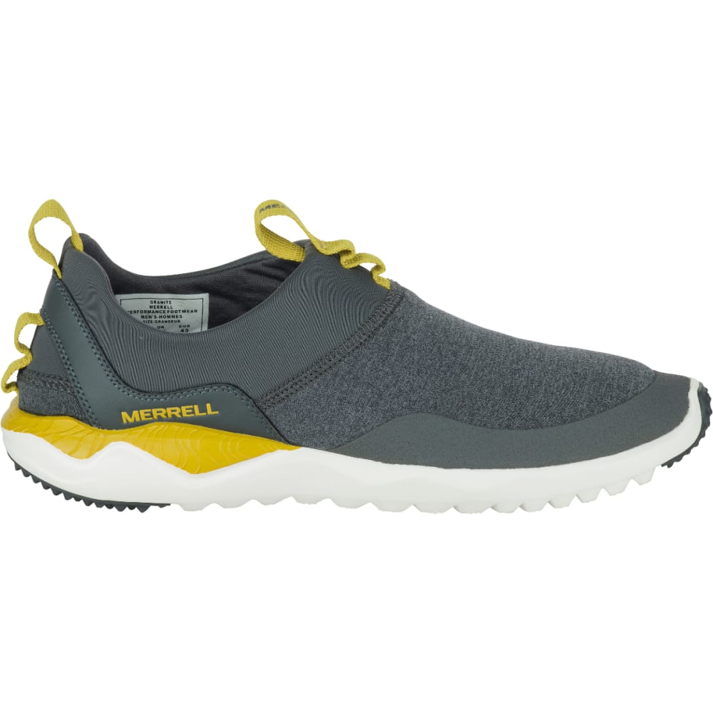 MERRELL Men's 1SIX8 Moc Shoes, Grey - GREY