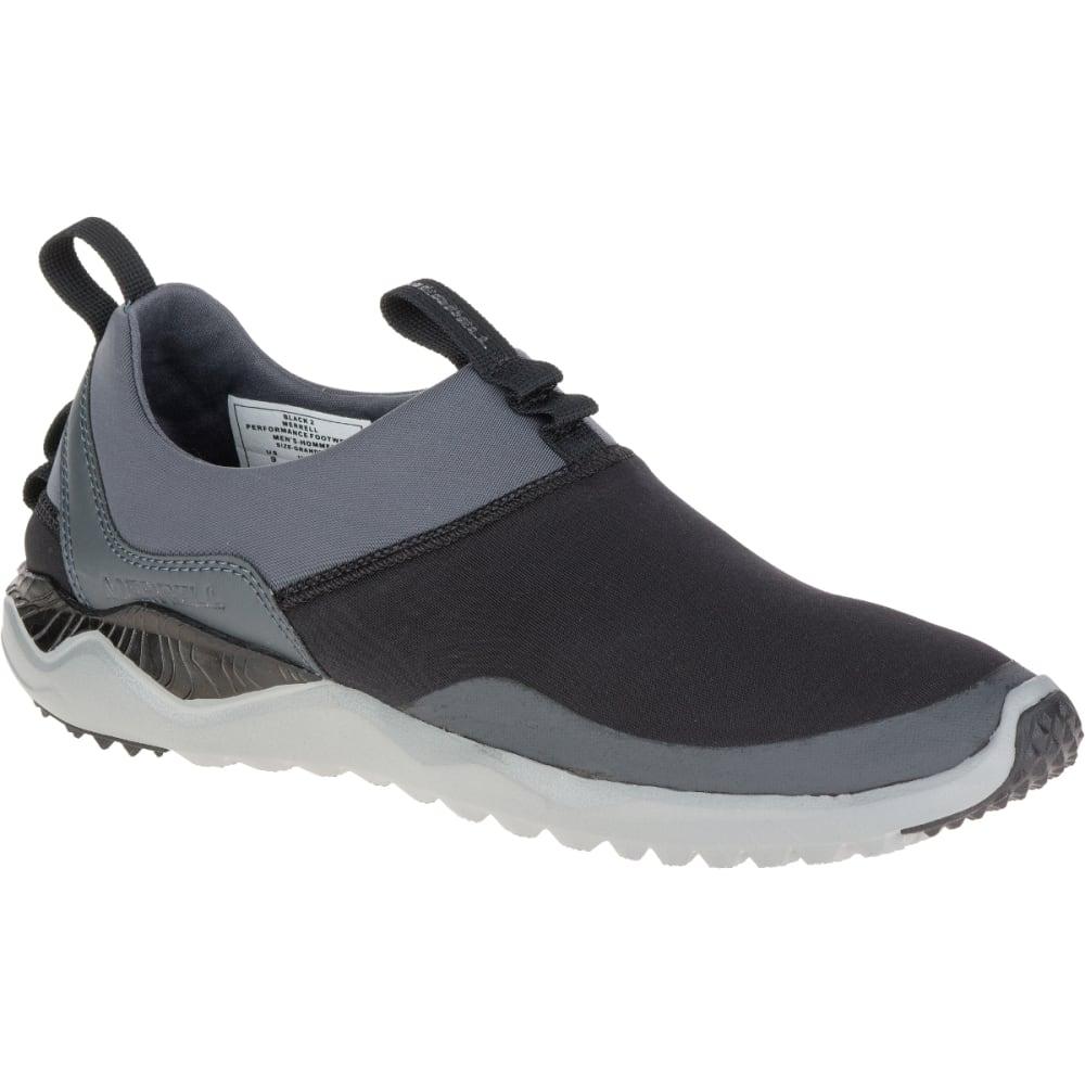 MERRELL Men's 1SIX8 Moc Shoes, Black - BLACK/BLACK