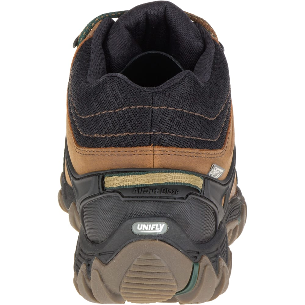 MERRELL Men's All Out Blaze Ventilator Mid Waterproof Hiking Shoes, Merrell Tan - MERRELL TAN