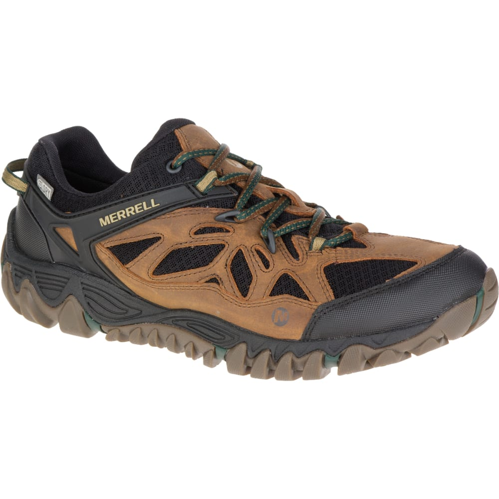 MERRELL Men's All Out Blaze Ventilator Waterproof Hiking Shoe, Merrell Tan - MERRELL TAN