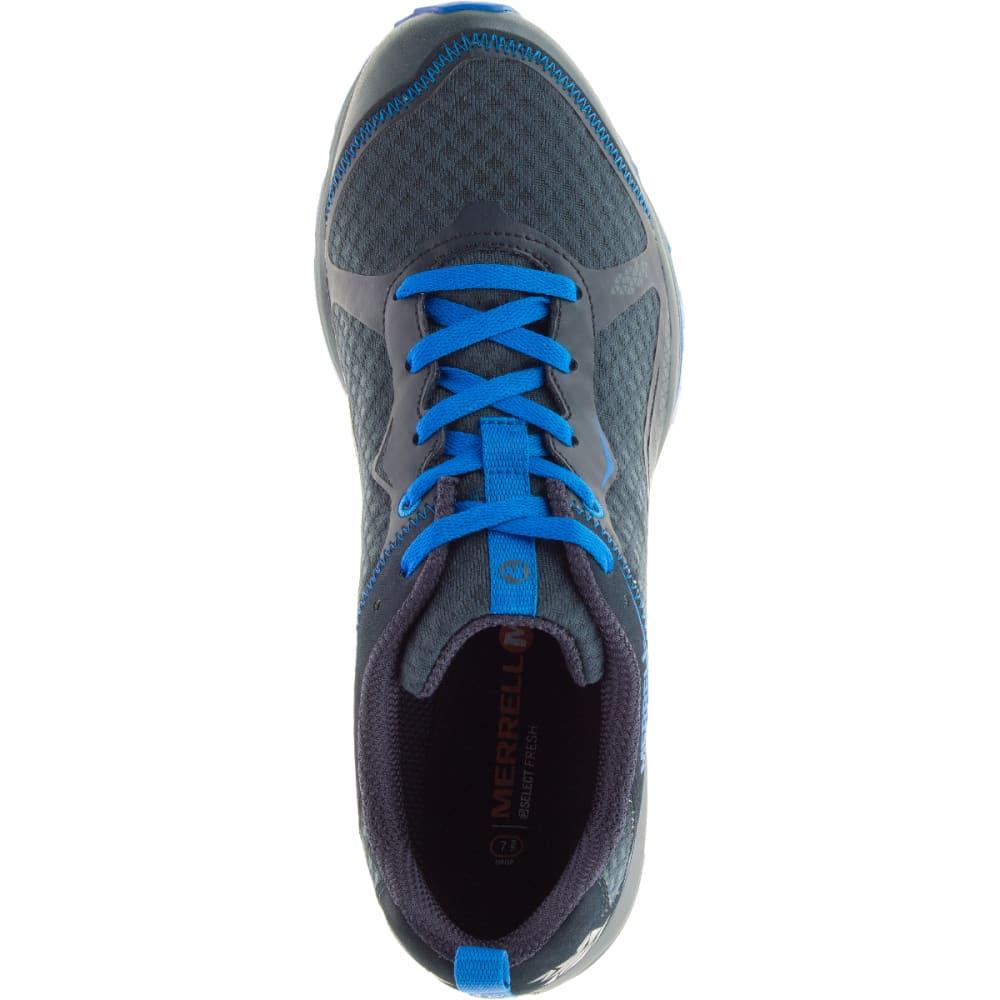 MERRELL Men's All Out Crush Light Running Shoe, Dark Slate - DARK SLATE
