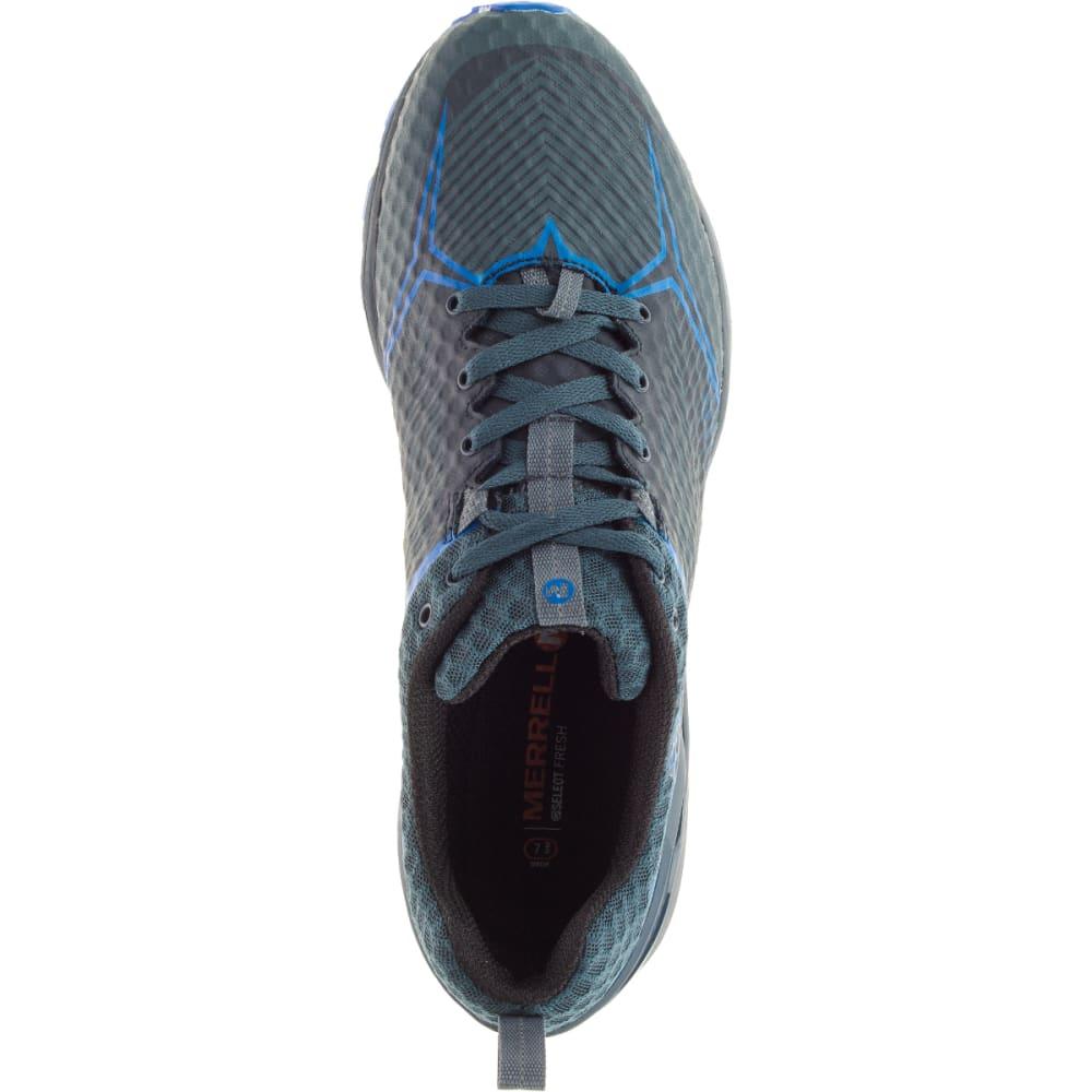 MERRELL Men's All Out Crush Shield Waterproof Running Shoe, Dark Slate - DARK SLATE