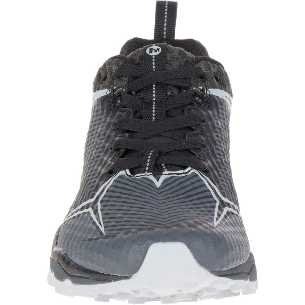 MERRELL Men's All Out Crush Shield Waterproof Running Shoe, Black/Granite - BLACK/GRANITE