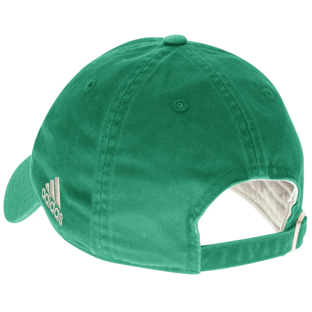 ADIDAS BOSTON CELTICS Men's Adjustable Hat - KELLY