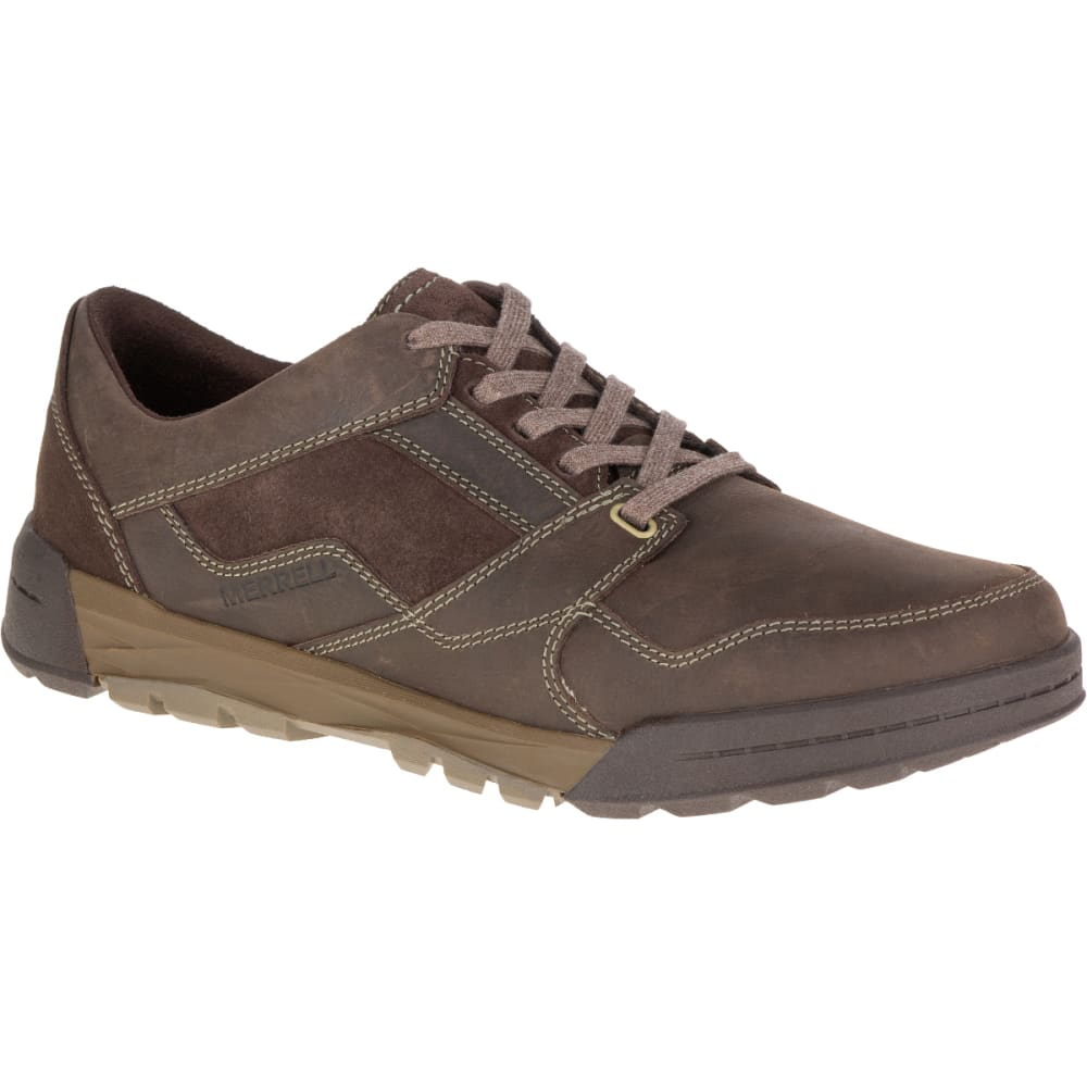 Merrell Men's Berner Lace Up Sneaker, Espresso - Brown, 11.5